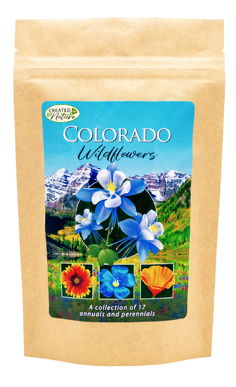 Colorado Wildflower Seed Mix – Turn Landscaping into a Breathtaking Experience | Created By Nature