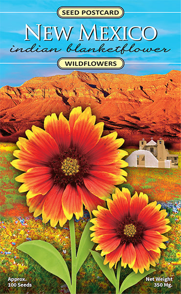 New Mexico Indian Blanketflower Seed Packet