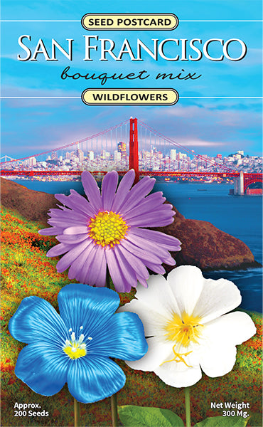 San Francisco Bouquet Seed Packet
