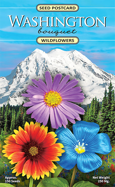 Washington Bouquet Seed Packet