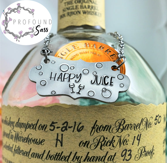 Happy Juice Bottle Charm