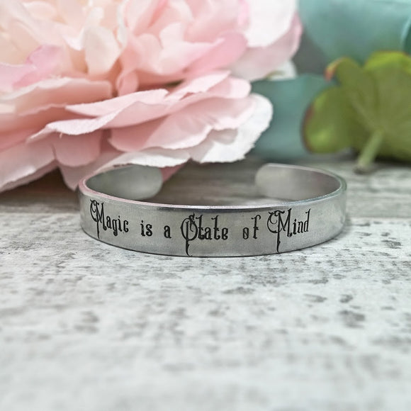 Magic is a State of Mind Cuff Bracelet
