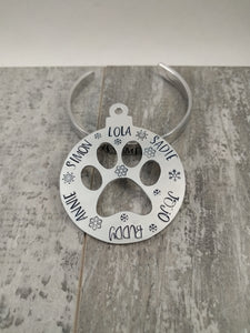 Pawprint Ornament for Pets