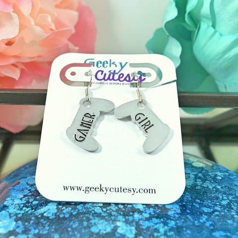 Gamer Girl Controller Earrings