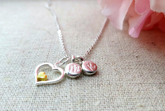 Heart Pendant Love Necklace
