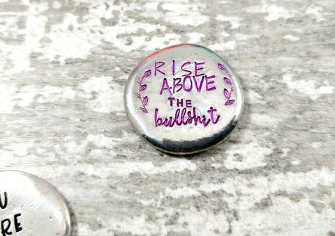 Rise Above the Bullshit Pocket Token