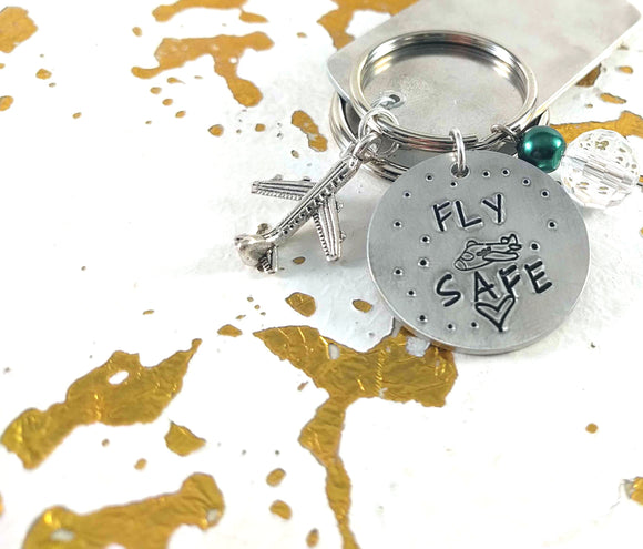 Fly Safe Keychain