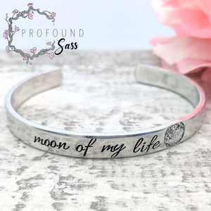 Moon of my Life Cuff Bracelet