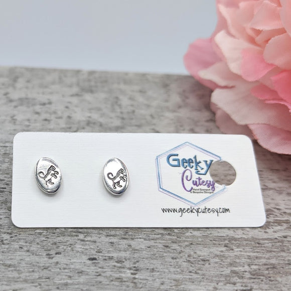 Tiger Stud Earrings