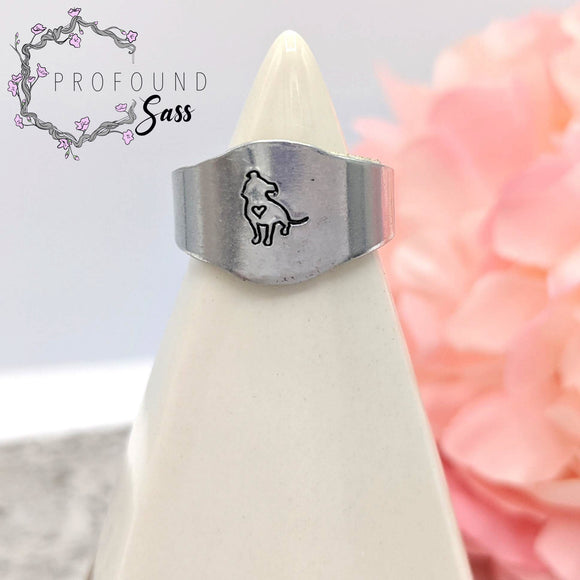Pitbull Adjustable Ring