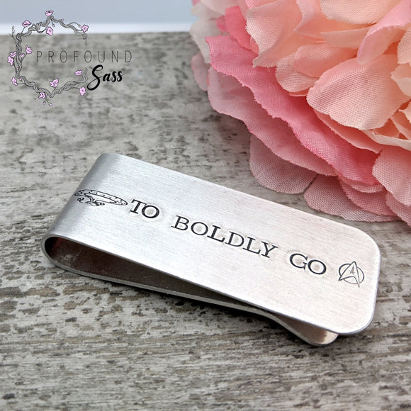 To Boldly Go Money Clip