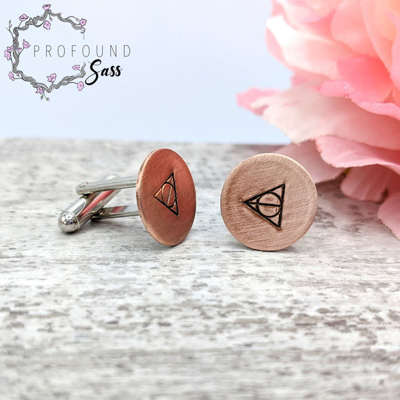 Deathly Hallows Cuff Links