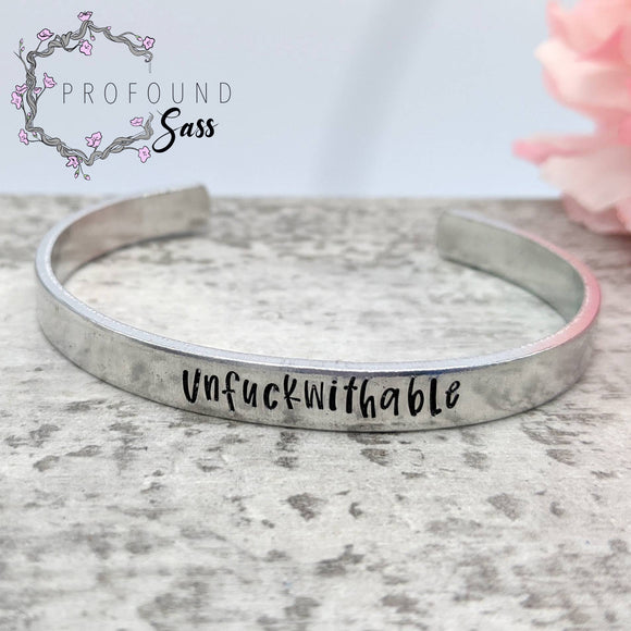 Unfuckwithable Cuff Bracelet