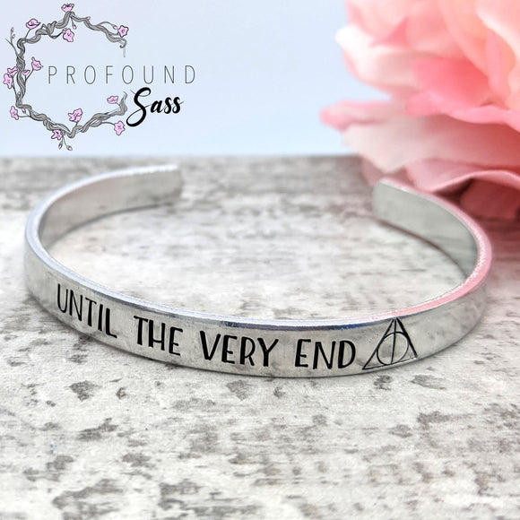 Until the Very End Cuff Bracelet