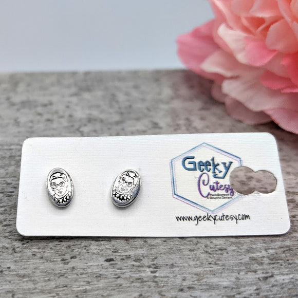 Ruth Bader Ginsburg Stud Earrings