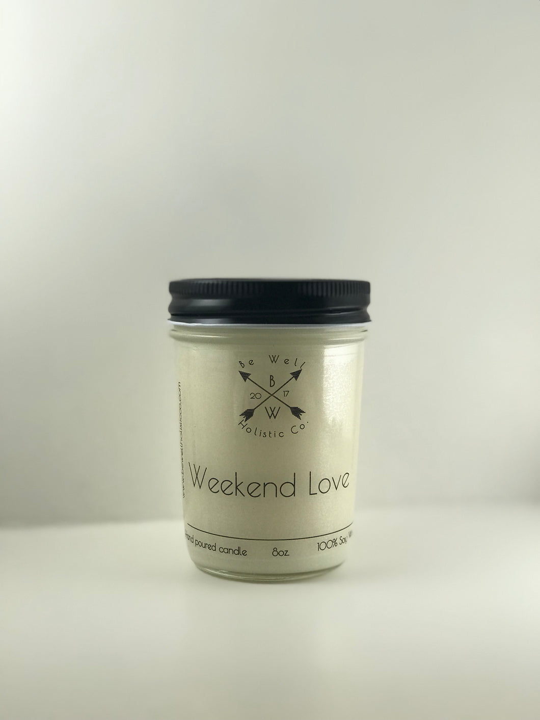 Weekend Love Soy Wax Candle