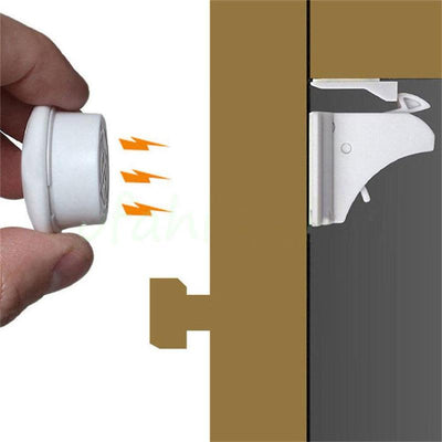 4pcs. Magnetic Childproof Drawer/Cupboard Locks - 20% OFF
