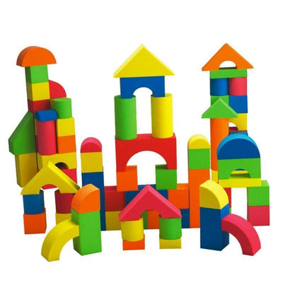 Educational Toys - 38pcs Foam Building Blocks