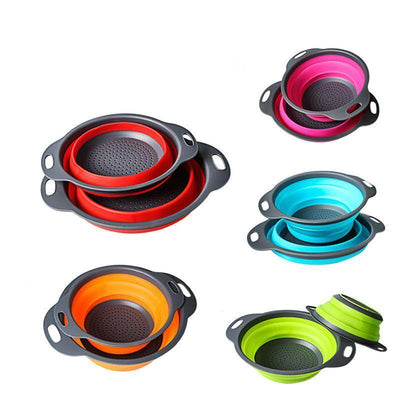 Collapsible Silicone Colanders