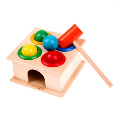 Push And Hammer Ball Box