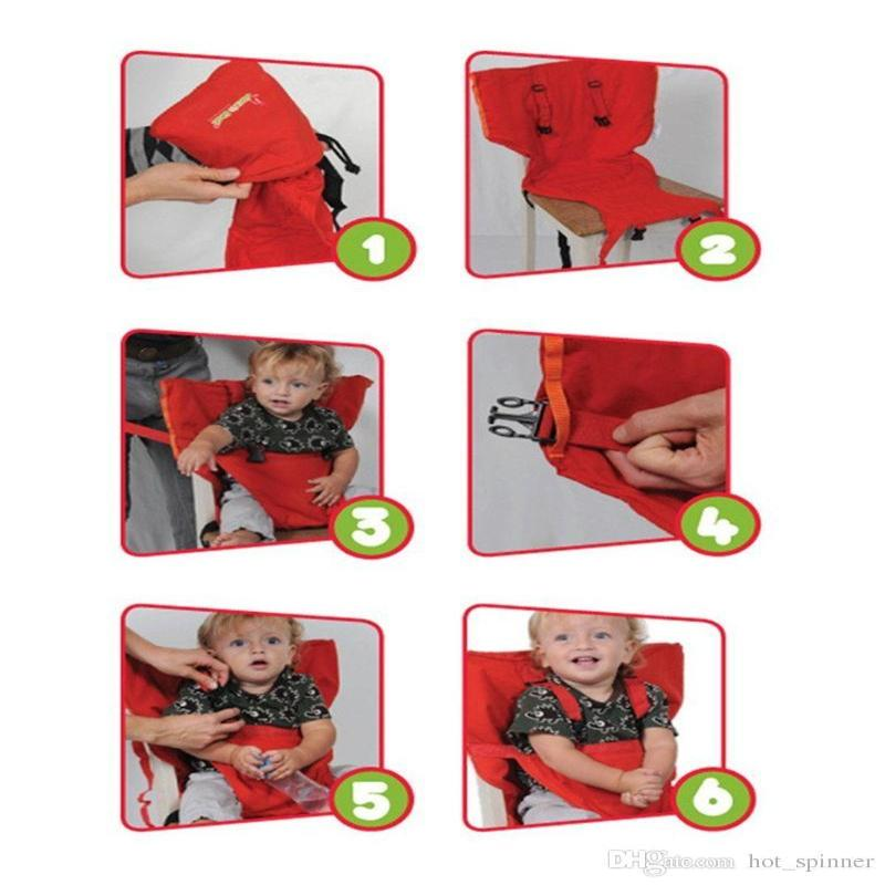 Baby Chair Harness In A Sack - For easy feeding- Green - 20% OFF