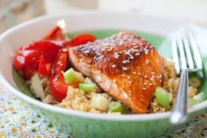 Recipe of the Week: Teriyaki Salmon