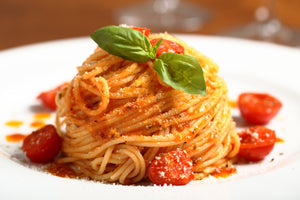 Recipe of the Week: Gourmet Spaghetti with Baked Cherry Tomatoes