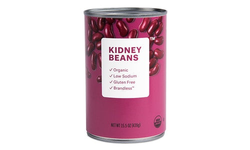 Organic Dark Red Kidney Beans