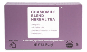 Organic Chamomile Blend Herbal Tea