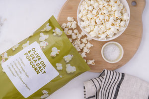 Organic Olive Oil & Sea Salt Popcorn