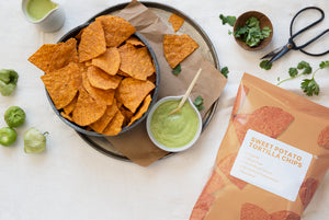 Organic Sweet Potato Tortilla Chips