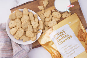 Organic Whole Wheat Animal Cookies