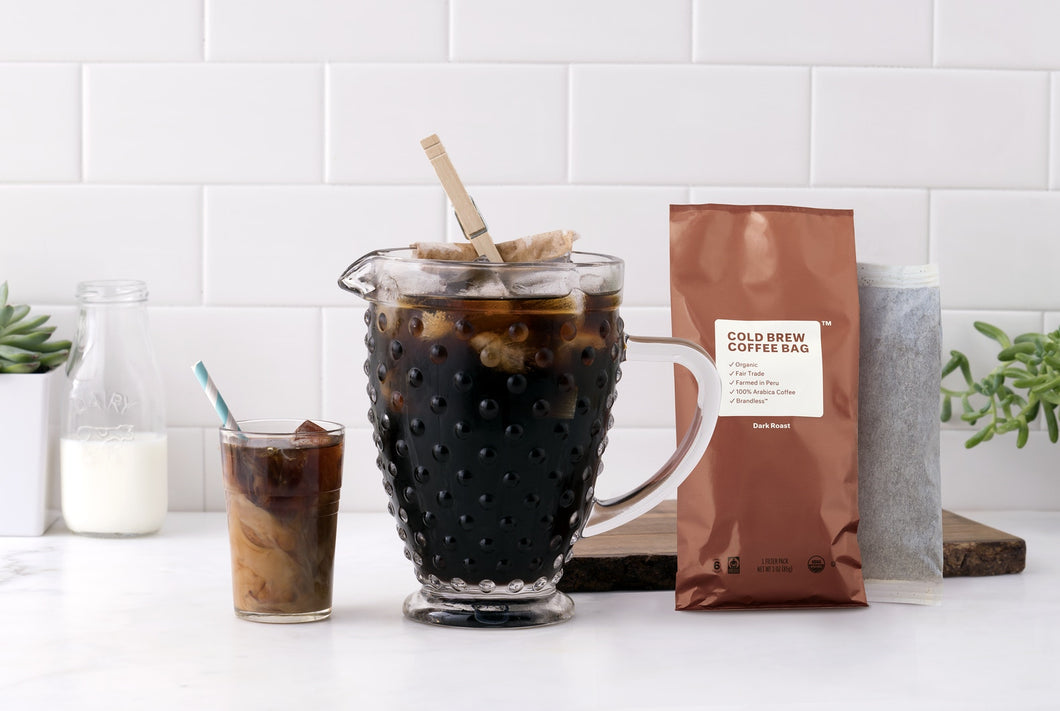 Organic Fair Trade Cold Brew Coffee Bag