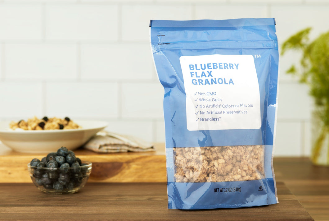 Blueberry Flax Granola
