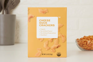 Organic Cheese Duck Crackers