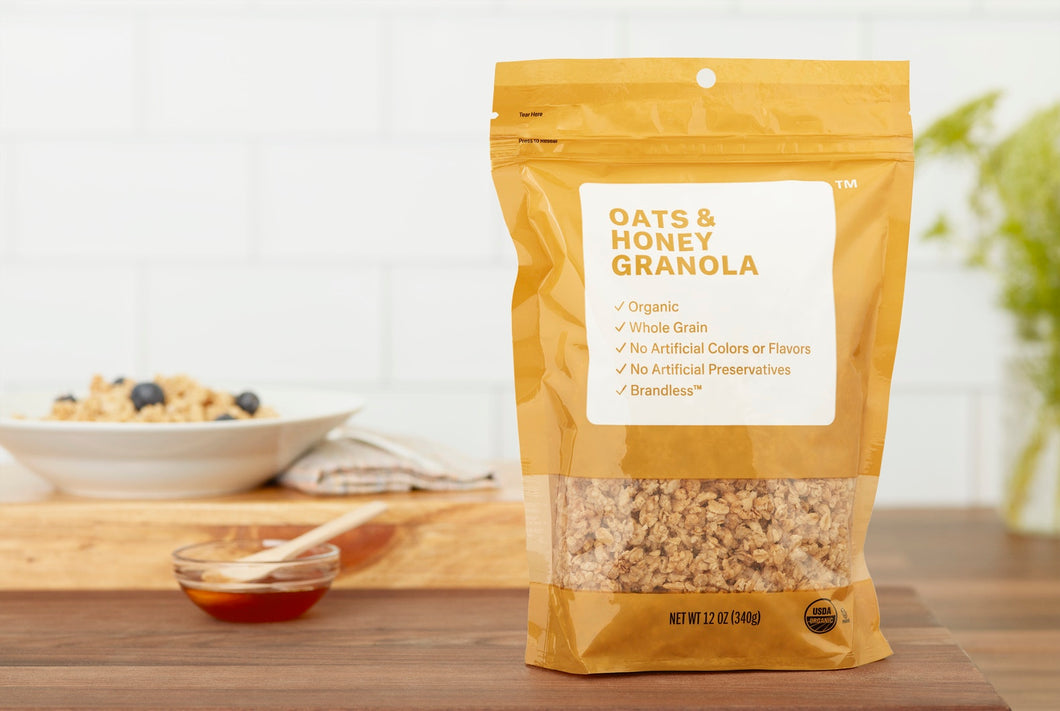 Organic Oats & Honey Granola