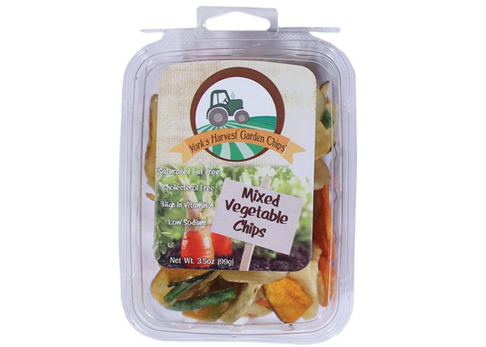 Garden Chips™ by York's Harvest– Mixed Vegetable Chips