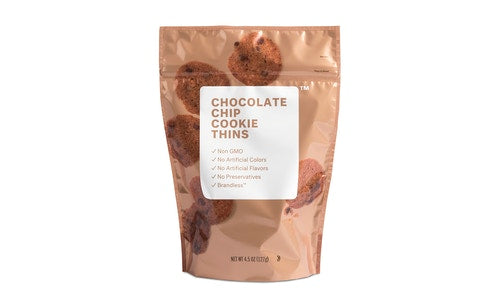 Chocolate Chip Cookie Thins