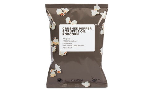 Organic Crushed Pepper & Truffle Oil Popcorn
