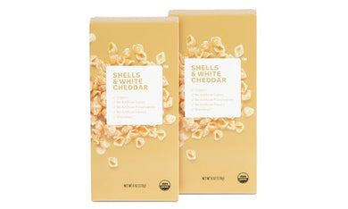 2 Pack Organic Shells & White Cheddar