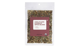 Organic Garlic & Chili Flake Seasoning Blend