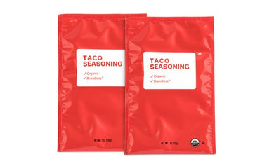 2pk Organic Taco Seasoning Packet