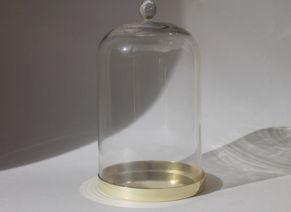 Gilded Candle Cloche
