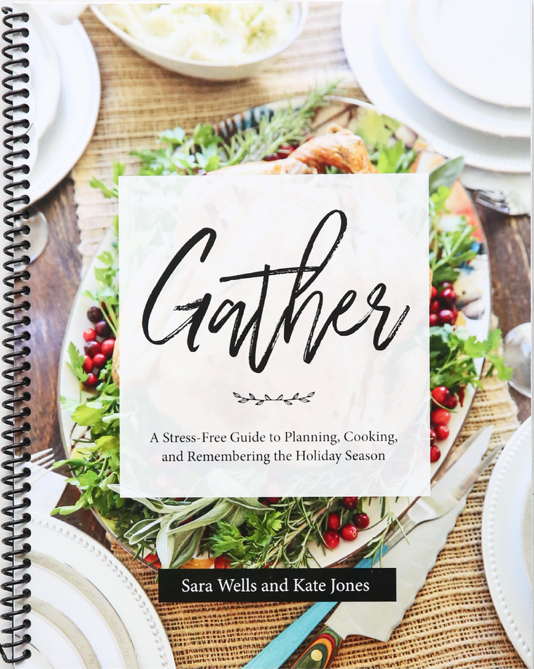 Gather: Holiday Menu Planning Book (Physical Book)