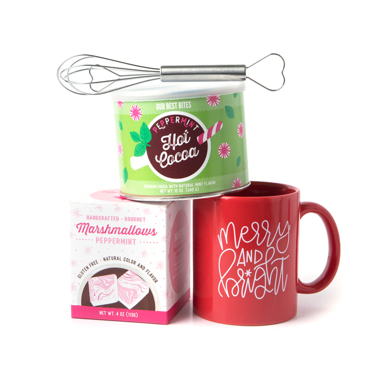 Cozy Cocoa Gift Set: Peppermint