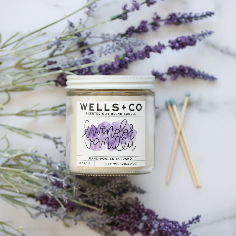 WELLS + CO Spring Candles