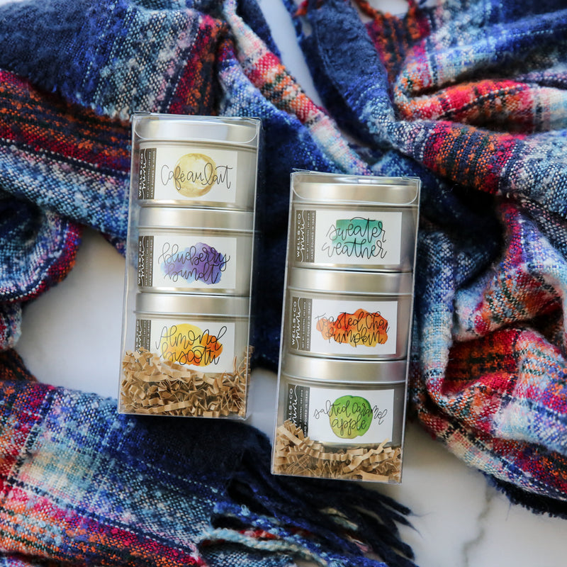 Wells + Co 3-Pack Candle Set
