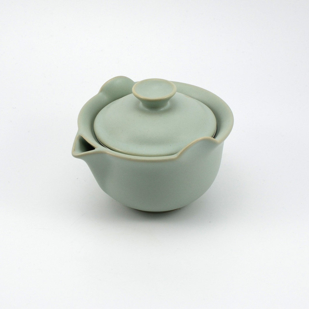 Green Ruyao Easy Gaiwan with Strainer