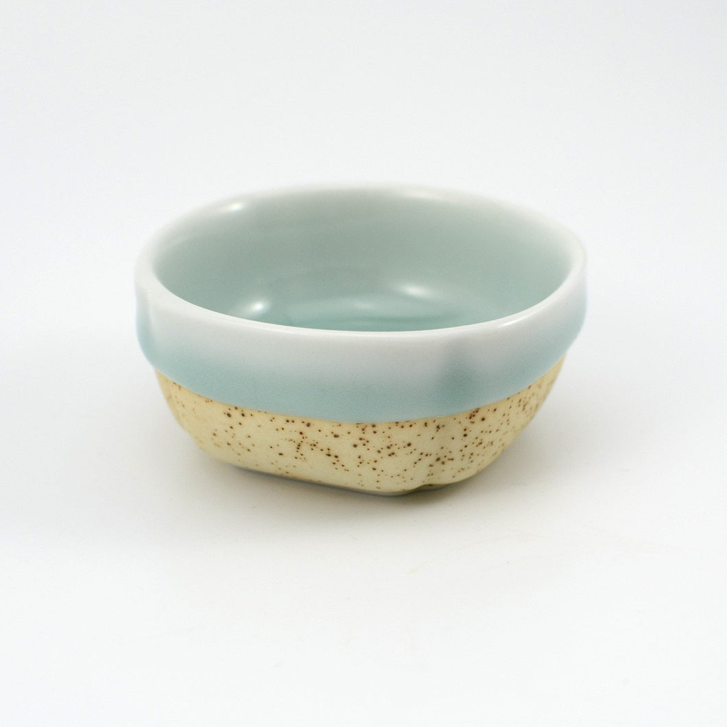 Celadon Partial Glaze Teacup