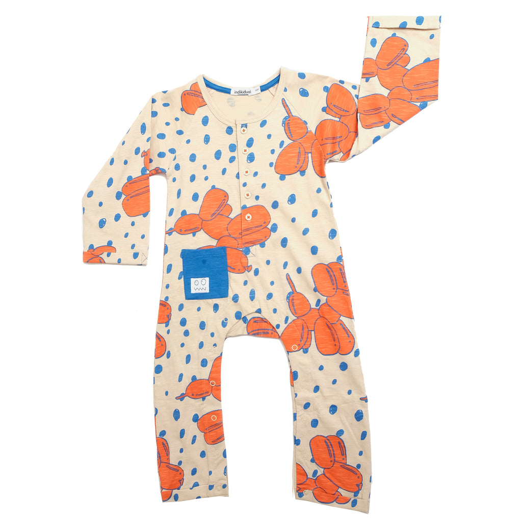 Balloon Dog Baby Grow by Indikidual